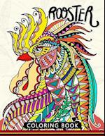Rooster Coloring Book