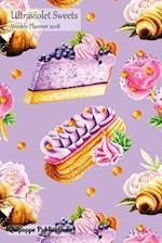 Ultraviolet Sweets Weekly Planner 2018