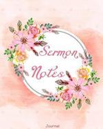 Sermon Notes Journal