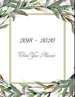 2018 - 2020 Three Year Planner
