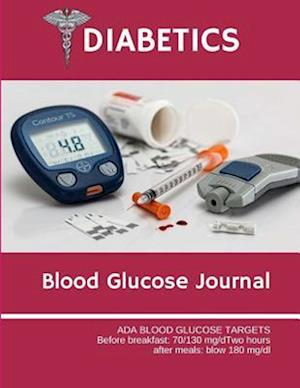 Diabetics Blood Glucose Journal