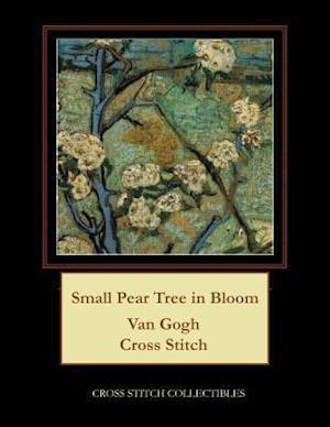 Small Pear Tree in Bloom: Van Gogh Cross Stitch Pattern