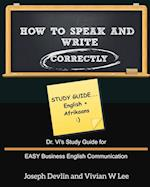 How to Speak and Write Correctly af Vivian W. Lee, Joseph Devlin