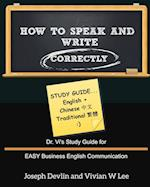 How to Speak and Write Correctly af Joseph Devlin, Vivian W. Lee