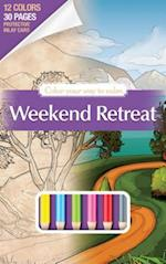 Color Your Way to Calm Weekend [With Colored Pencils] (Color Your Way to Calm, nr. 1)