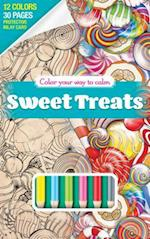 Color Your Way to Calm Sweet T [With Colored Pencils] (Color Your Way to Calm, nr. 1)