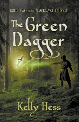 Bog, paperback The Green Dagger af Kelly Hess
