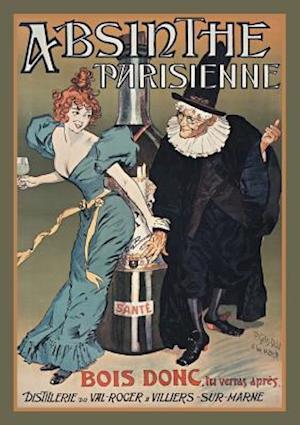 Bog, paperback Carnet Ligne Absinthe Parisienne