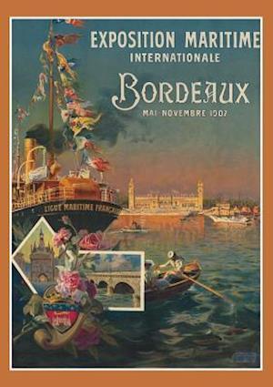 Bog, paperback Carnet Ligne Ligue Maritime Bordeaux af Non Identifi