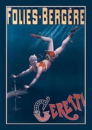 Bog, paperback Carnet Blanc Folies-Bergere. Ceretti