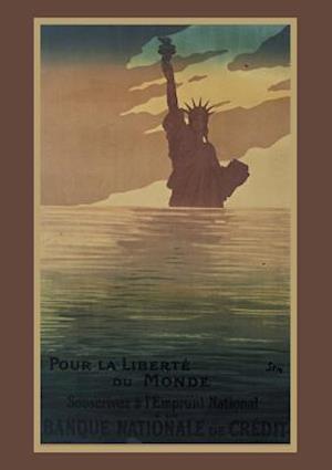 Carnet Blanc Statue de la Liberté