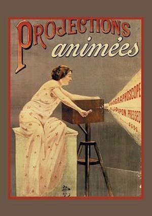 Bog, paperback Carnet Blanc Projection Cinema