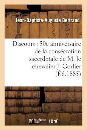 Bog, paperback Discours af Jean-Baptiste-Auguste Bertrand