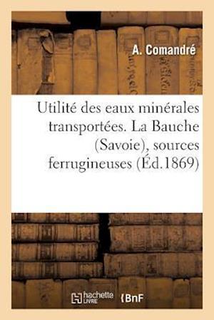 Utilité Des Eaux Minérales Transportées. La Bauche Savoie, Sources Ferrugineuses