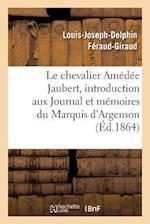 Notice Sur Le Chevalier Amédée Jaubert