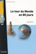 Le Tour Du Monde En 80 Jours + CD Audio MP3 (Verne) [With CD (Audio)] af Verne