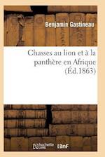 Chasses Au Lion Et À La Panthère En Afrique