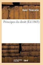 Principes Du Droit 2e Ed