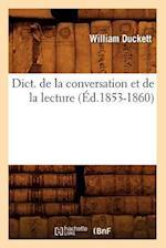 Dict. de La Conversation Et de La Lecture (A0/00d.1853-1860) (Langues)