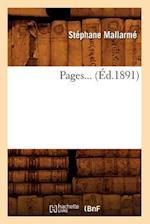 Pages (Ed.1891) af Stephane Mallarme