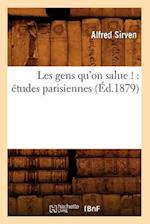 Les Gens Qu'on Salue ! (Litterature)