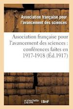 Association Francaise Pour L'Avancement Des Sciences