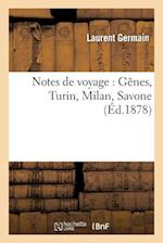 Notes de Voyage af Germain-L
