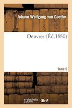 Oeuvres Tome 9