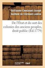 de L'Etat Et Du Sort Des Colonies Des Anciens Peuples, Droit Public