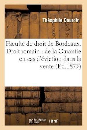 Bog, paperback Faculte de Droit de Bordeaux. Droit Romain