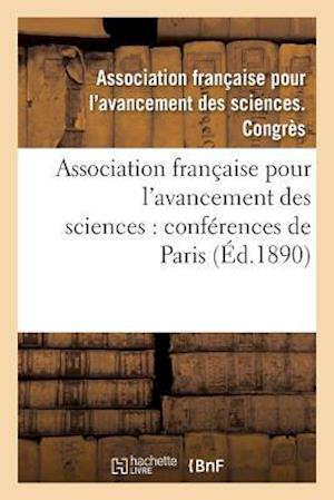 Bog, paperback Association Francaise Pour L'Avancement Des Sciences af Association Francaise
