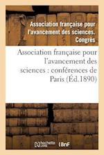 Association Francaise Pour L'Avancement Des Sciences af Association Francaise