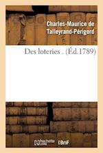 Des Loteries af De Talleyrand-Perigord-C