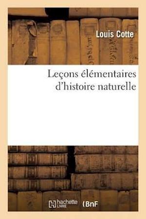 Leçons Élémentaires d'Histoire Naturelle
