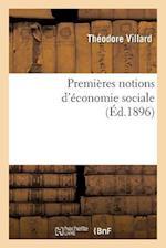 Premières Notions d'Économie Sociale