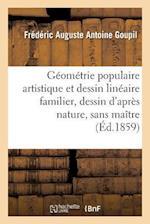 Géométrie Populaire Artistique Et Dessin Linéaire Familier