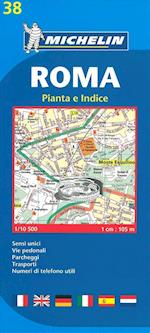 Roma Plan (Michelin City Plans, nr. 0038)