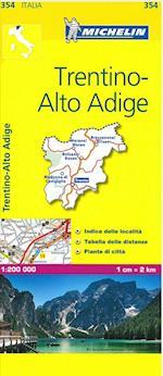 Trentino (Michelin Regional Maps, nr. 0354)