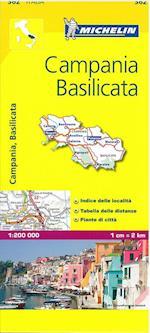 Campania (Michelin Regional Maps, nr. 0362)