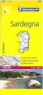Michelin Sardegna (Michelin Regional Maps)