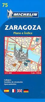 Zaragoza*, Michelin 75 1:11.000