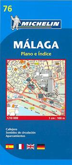 Map 9076 Malaga (Michelin City Plans, nr. 9076)