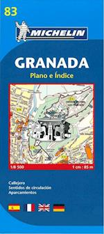Map 9083 Granada (Michelin City Plans, nr. 9083)