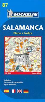 Salamanca, Michelin 87 1:8.000