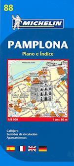 Pamplona, Michelin 88 1:8.000