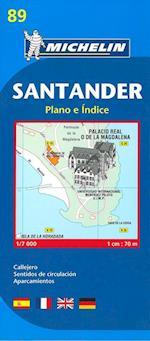 Santander, Michelin 89 1:7.000