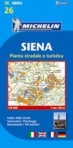 Siena*, Michelin 26 1:8.000