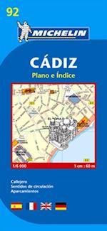Cadiz*, Michelin 92 1:6.000 (Michelin City Plans, nr. 92)
