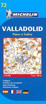 Valladolid, Michelin City Plan 72 (Juli 2013) (Michelin City Plans, nr. 72)