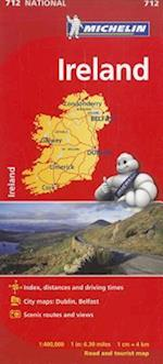 Michelin Ireland Map 712